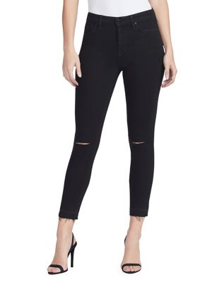 Sculpted High Rise Skinny Ankle Jeans by William Rast