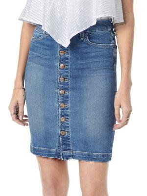 Classic Denim Pencil Skirt by Joe's Jeans