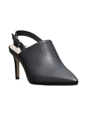 Pierrette Leather Slingback Pumps by Tahari
