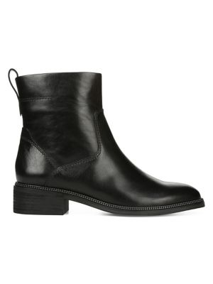 Brindle Leather Booties by Franco Sarto