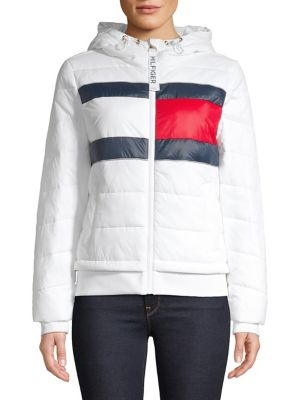 Nylon Puffer Coat by Tommy Hilfiger Performance