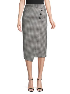 high-rise-houndstooth-button-front-midi-skirt by vince-camuto