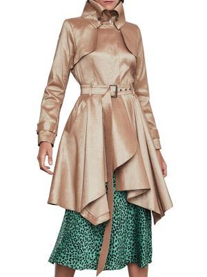 stand-collar-trench-coat by bcbgmaxazria
