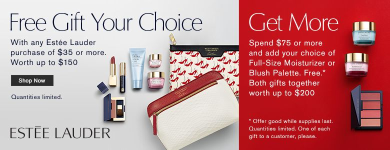 SOLD OUT Today there is a great new Estee Lauder Gift with Purchase at Lord and movieboxapp.ml is the first of the Summer GWPs where you need to buy skincare or foundation in order to qualify for the free gift. While supplies last with any $35 Estee Lauder skincare or foundation purchase you will receive this free seven piece gift.