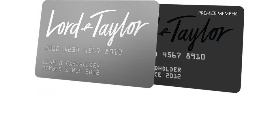 Lord Taylor Credit Card