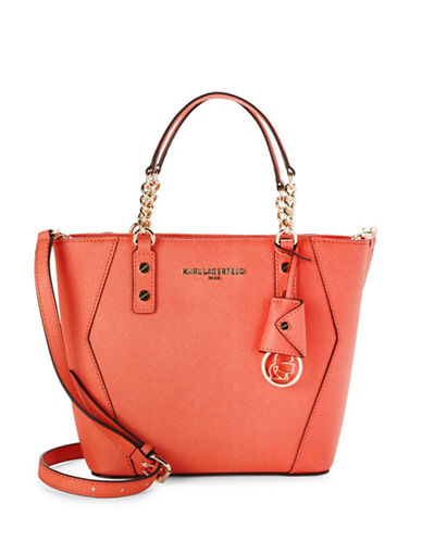 Collette Leather Crossbody Tote