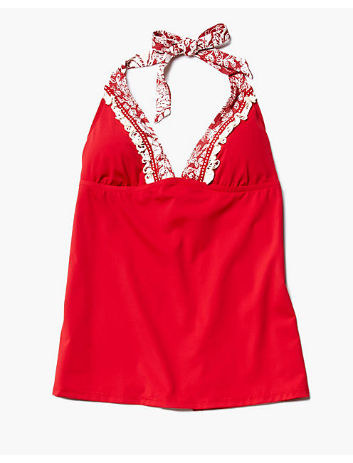 NATURE WALK TANKINI, SCARLET