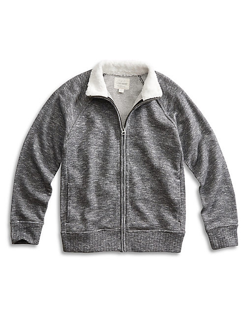 SHERPA LINED TRACK JKT, CHARCOAL