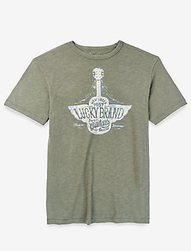 LUCKY BRAND GUITARS TEE