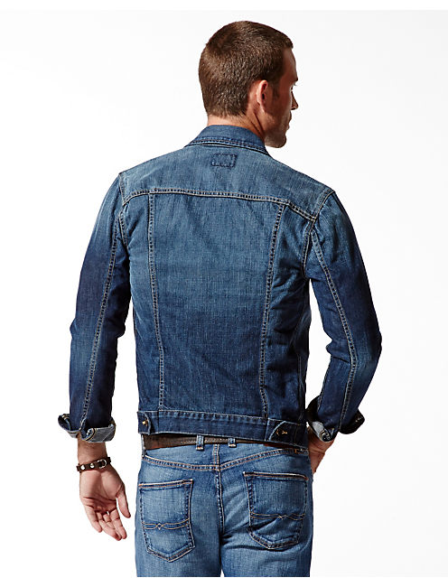 ICON DENIM JACKET, MEDIUM DEERHEAD
