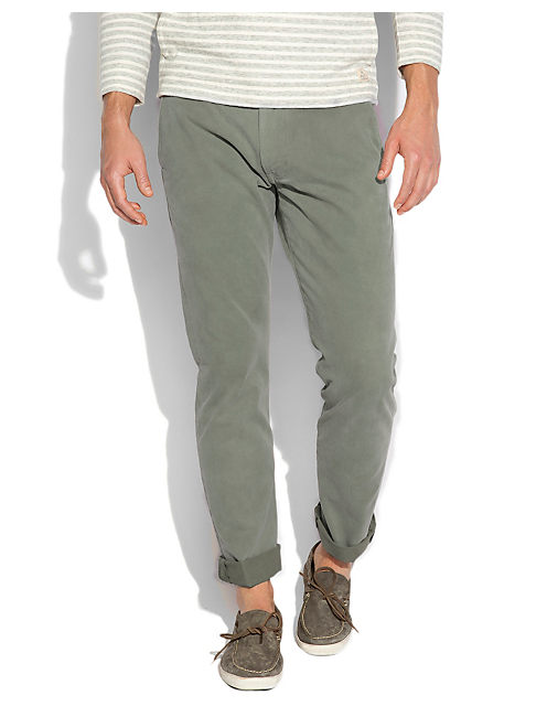 121 SUN FADED CHINO, #3907 SALSA VERDE