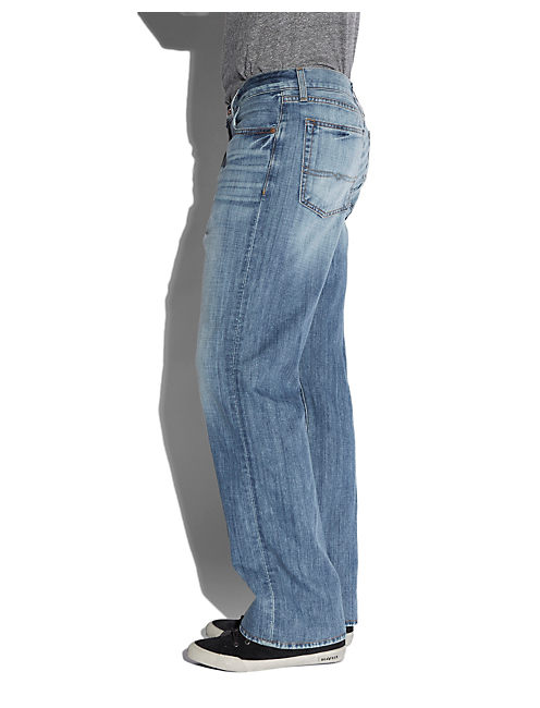 181 RELAXED STRAIGHT JEAN, CALCITE