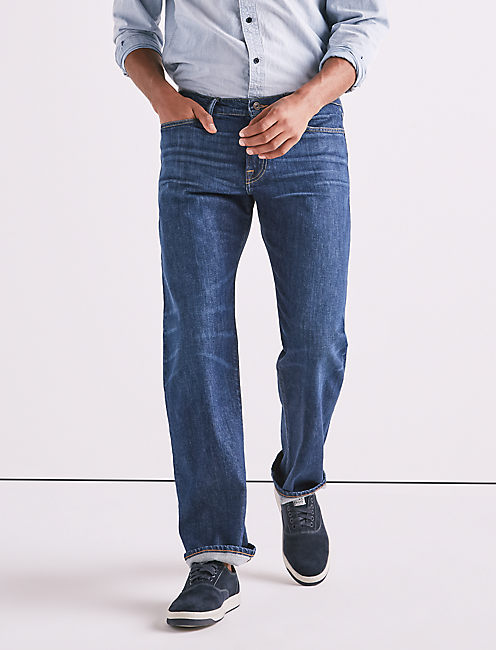 363 STRAIGHT STRETCH SELVEDGE JEAN,