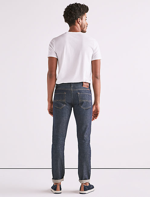 110 SKINNY STRETCH SELVEDGE JEAN,