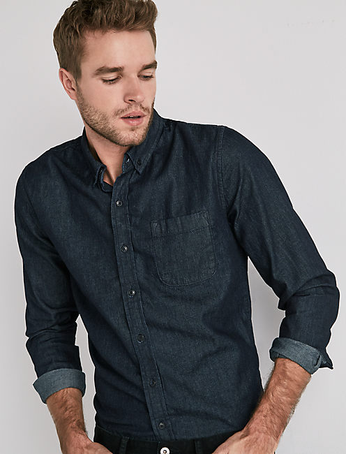TAILORED DENIM SHIRT,