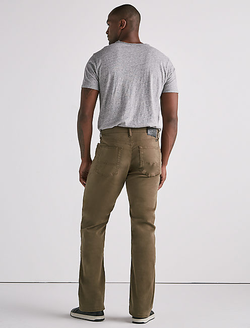 181 RELAXED STRAIGHT JEAN, IVY GREEN