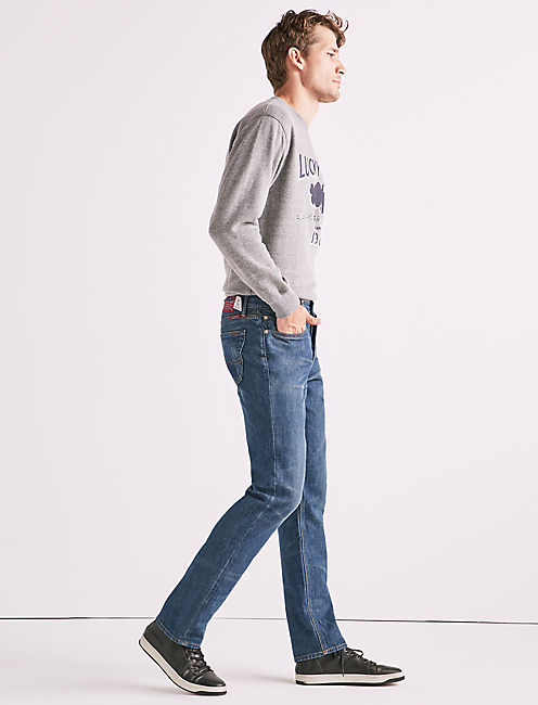 MADE IN L.A. 121 HERITAGE SLIM JEAN, MASON
