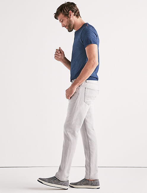 Lucky 410 Athletic Slim Linen Jean