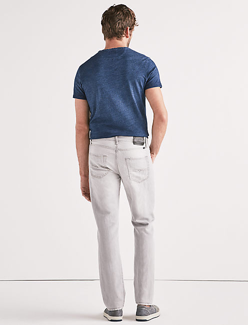 410 ATHLETIC SLIM LINEN JEAN,