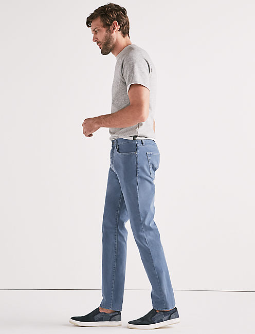121 SLIM STRETCH CANVAS JEAN,