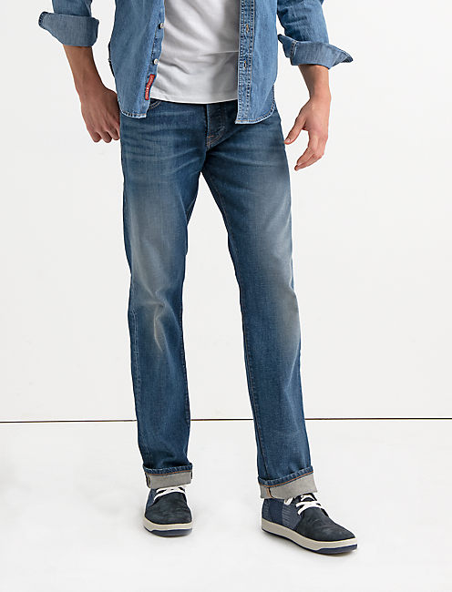 221 STRAIGHT STRETCH SELVEDGE JEAN, KENT