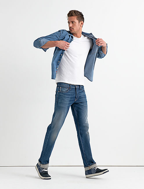Lucky 221 Straight Stretch Selvedge Jean