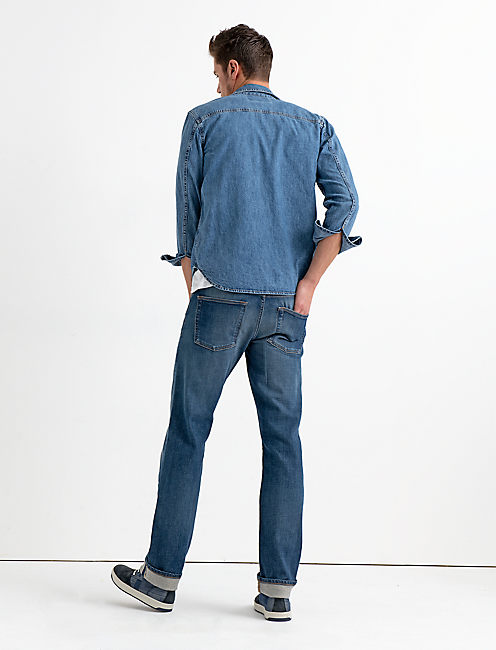 221 STRAIGHT STRETCH SELVEDGE JEAN,