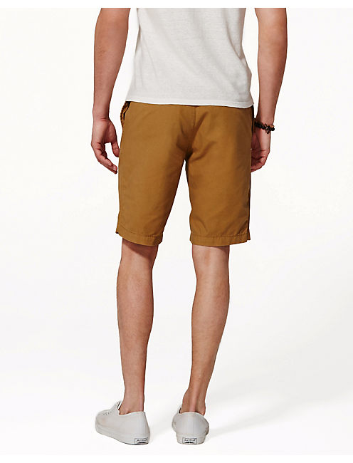 PASADENA SHORTS, DULL GOLD