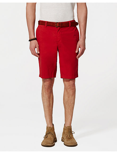 PASADENA SHORTS, POMPEIAN RED