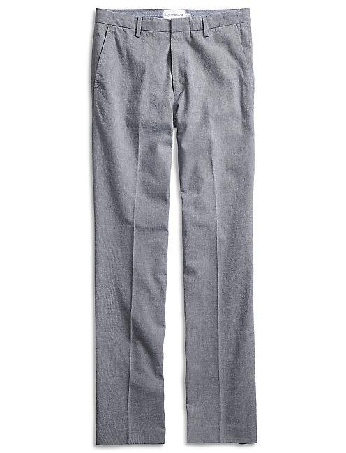 BLUE TEXTURED SUIT PANT,