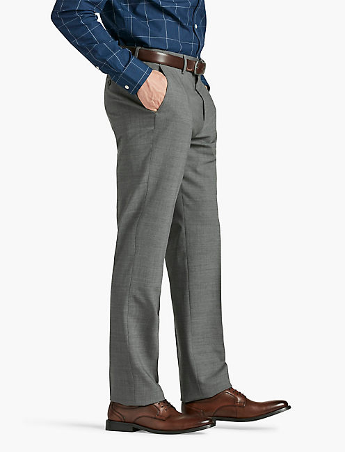 ACE ESSENTIAL SUIT PANT, HEATHER GREY