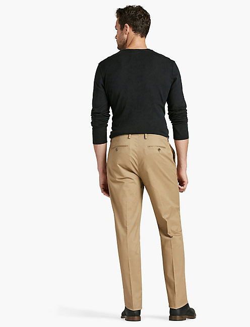 COTTON STRETCH TROUSER,