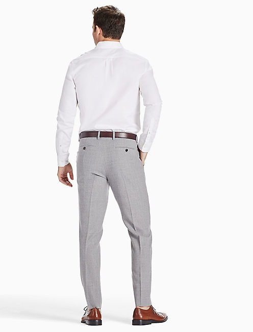 ACE RIDER SUIT PANT, LIGHT HEATHER GREY