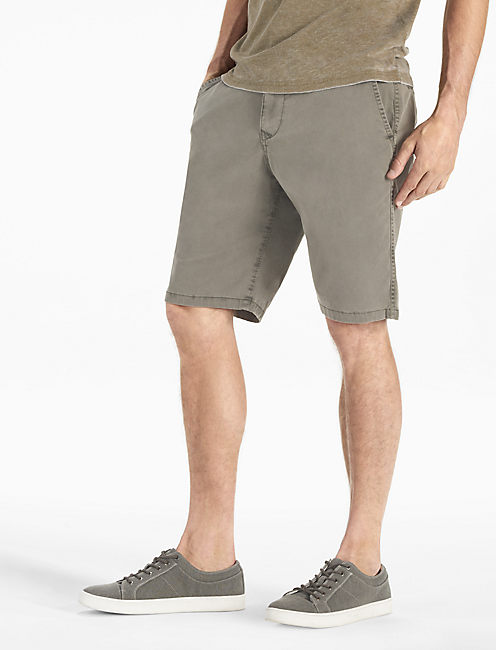 SATURDAY STRETCH SHORT, #1631 CHARCOAL GRAY