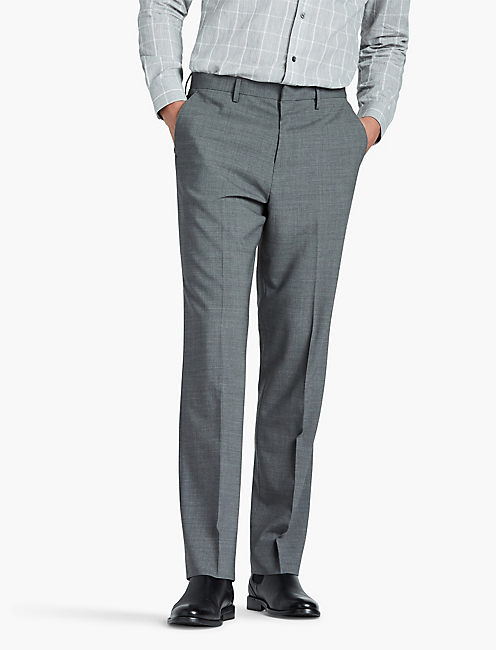 JACK ESSENTIAL SUIT PANT, HEATHER GREY