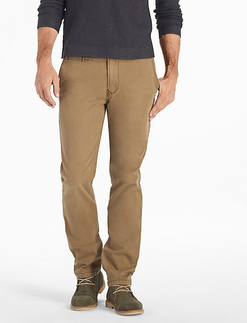 Stretch Cotton Links Chino,