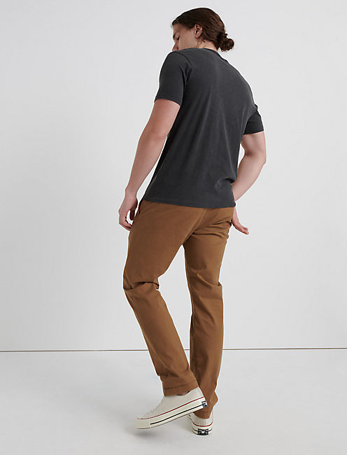 410 Athletic Slim COOLMAX STRETCH CHINO, BUZZARD BROWN
