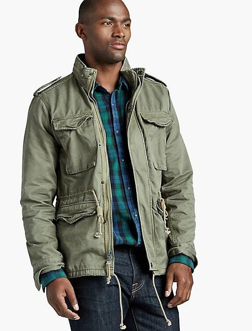 Vintage Field Jacket, FIELD GREEN