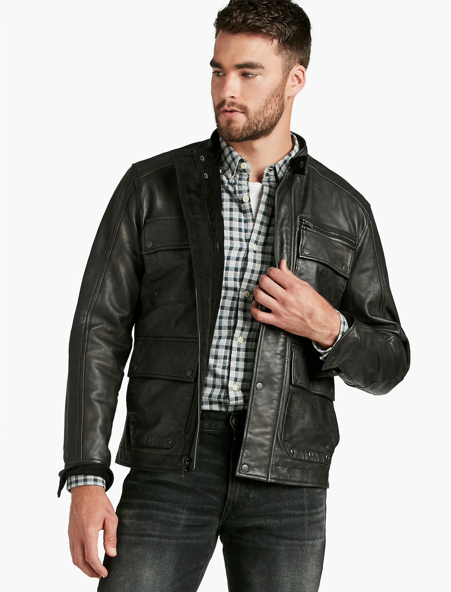 free people leather pin fitted rugged jackets from jacket and rug
