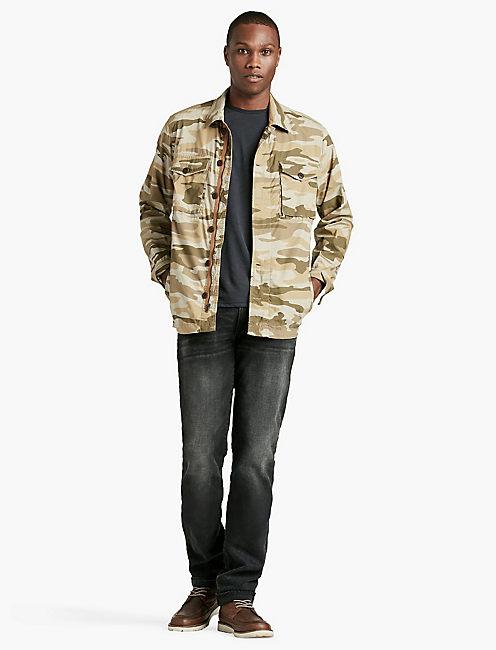 Lucky Camo Military Shirtjkt
