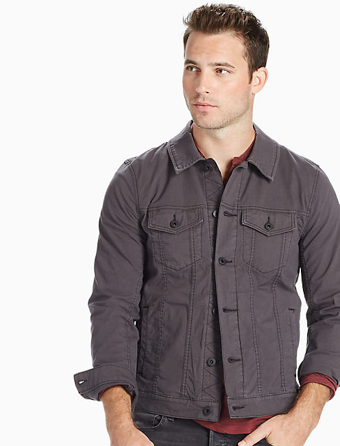 LIGHTWEIGHT TRUCKER JACKET,