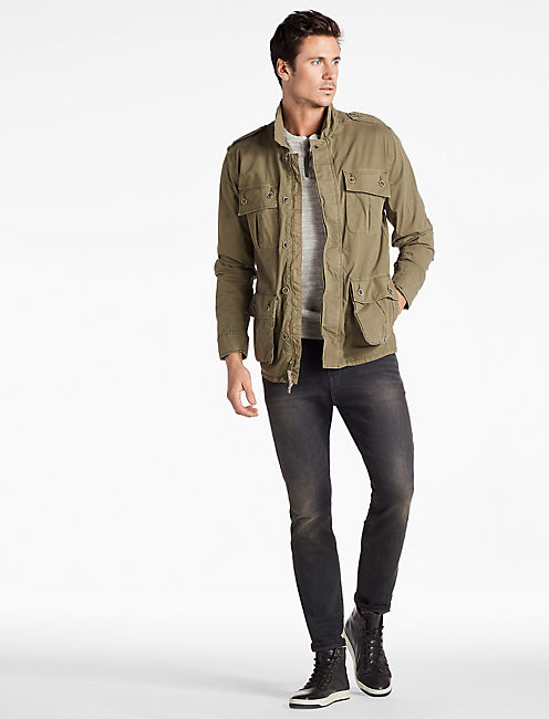 Lucky Military Shirt Jacket