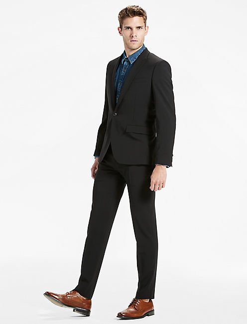 Lucky Ace Peak Lapel Suit Jacket