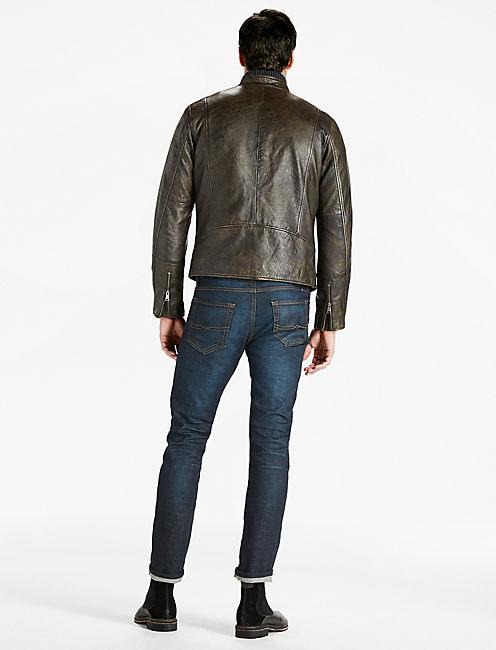 Classic Bonneville Leather Jacket,