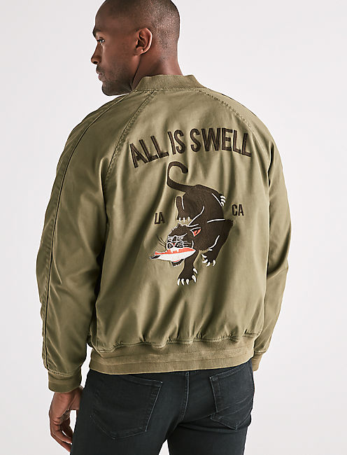 EMBROIDERED SOUVENIR JACKET,