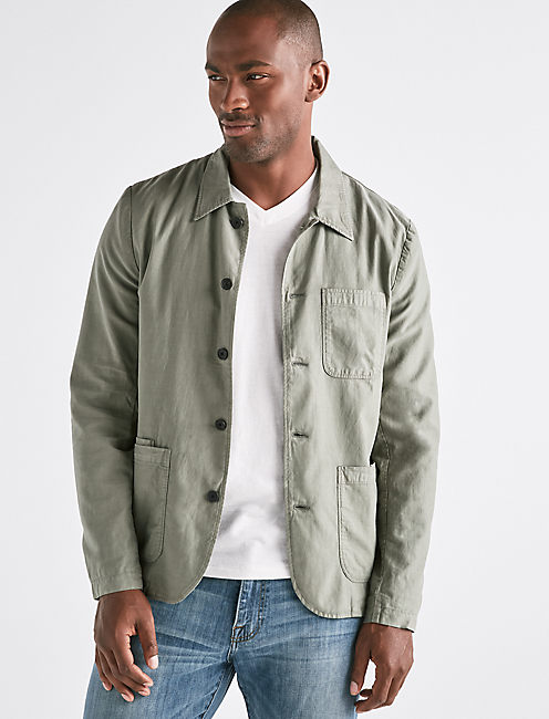 TENCEL UTILITY JACKET,