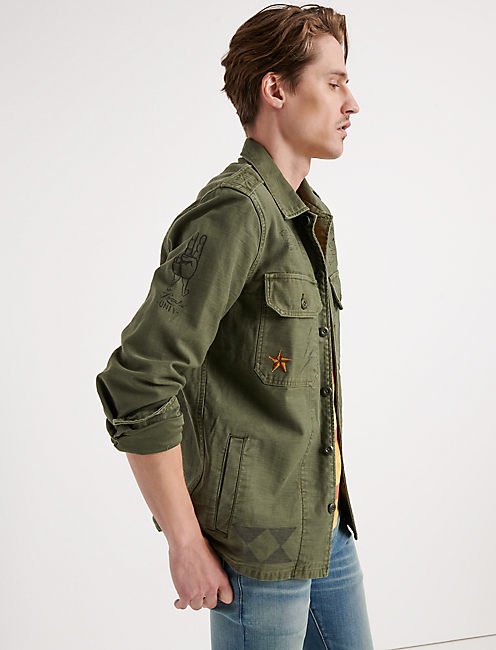 Military Scribble Jacket