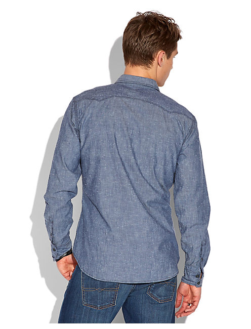 COYOTE HILLS CHAMBRAY, NEP CHAMBRAY