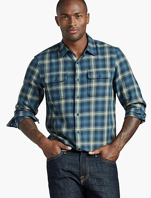 Lucky Brand Mens Clean 2-Pocket Shirt