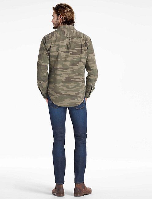 Mangrove Camo Workwear Shirt, GREEN CAMO